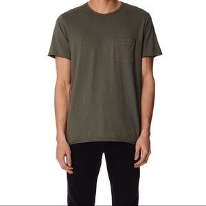 Men's Rag & Bone Raw Edge Pocket Tee